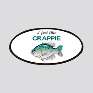I FEEL LIKE CRAPPIE Patches