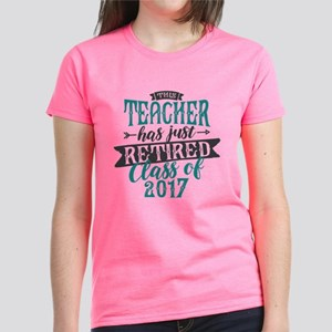 Retired Teacher Women's Dark T-Shirt