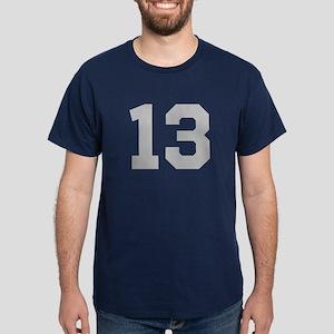 SILVER #13 Dark T-Shirt