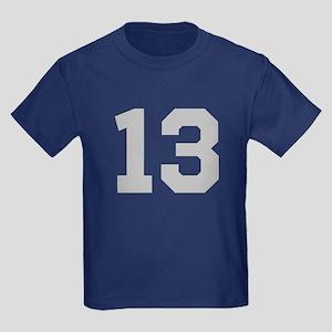 SILVER #13 Kids Dark T-Shirt