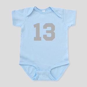 SILVER #13 Infant Bodysuit