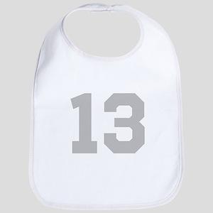 SILVER #13 Bib