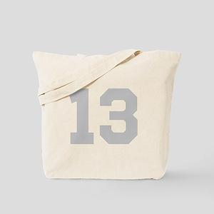 SILVER #13 Tote Bag