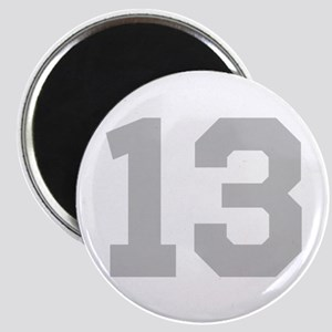 SILVER #13 Magnet