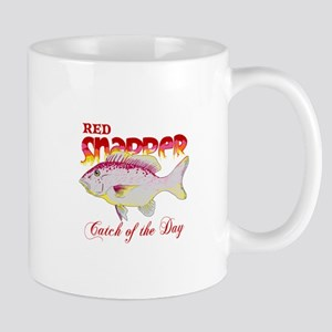 RED SNAPPER CATCH OF THE DAY Mugs