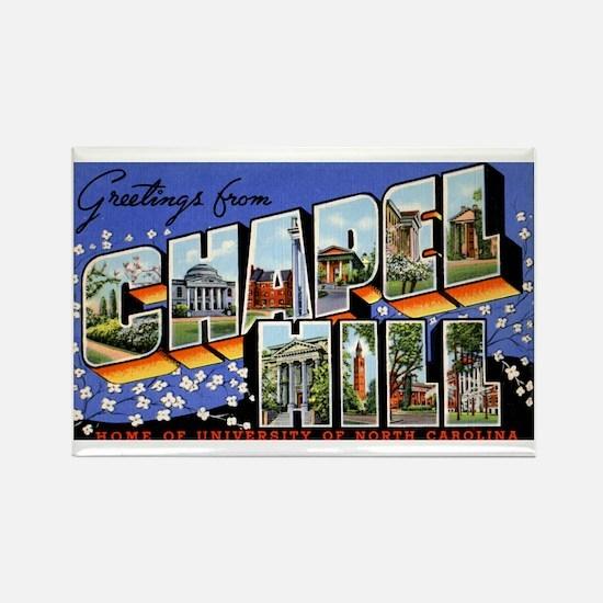 Chapel Hill North Carolina Rectangle Magnet