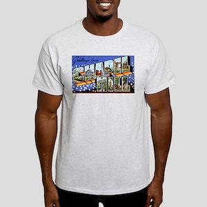 Chapel Hill North Carolina (Front) Light T-Shirt