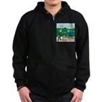 Scout Leader First Aid Zip Hoodie (dark)
