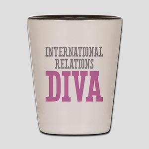 International Relations DIVA Shot Glass