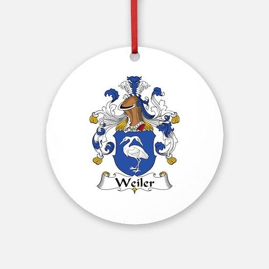 Weiler Ornament (Round)