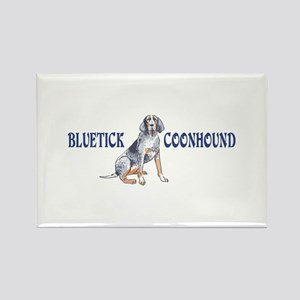 BLUETICK COONHOUND FULL CHEST Magnets