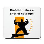 Diabetes Courage Mousepad