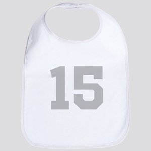 SILVER #15 Bib