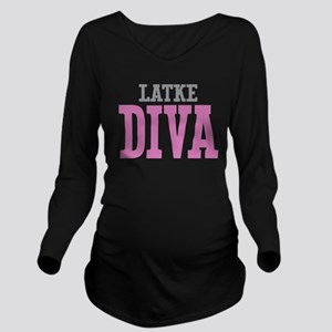 Latke DIVA Long Sleeve Maternity T-Shirt