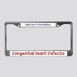 CHD Awareness License Plate Frame