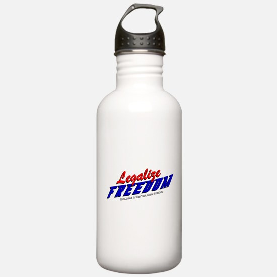 Legalize Freedom Water Bottle