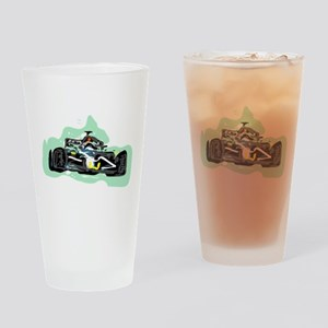racing Drinking Glass