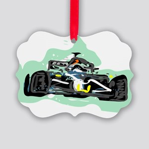 racing Picture Ornament