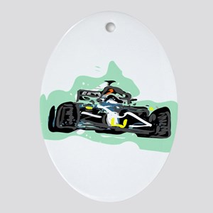racing Oval Ornament