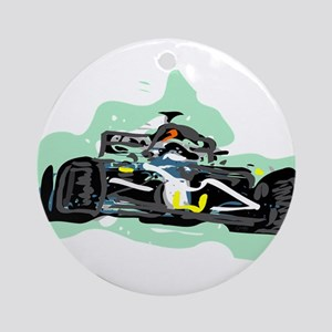 racing Round Ornament