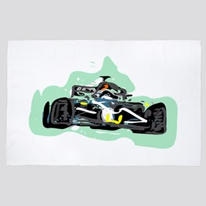 racing 4' x 6' Rug