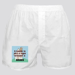 Briard Home Boxer Shorts