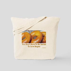 Love Bagels Tote Bag