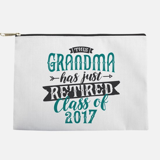 Retired Grandma Makeup Pouch