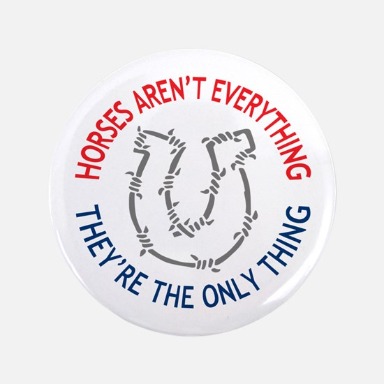 """HORSES ARENT EVERYTHING 3.5"""" Button"""