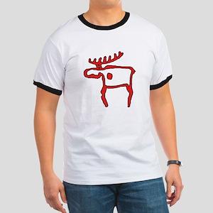 Cave Moose Ringer T