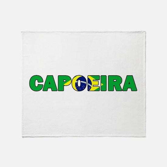 Capoeira 001 Throw Blanket