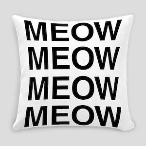 Meow Meow Meow Meow Master Pillow