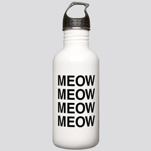Meow Meow Meow Meow Stainless Water Bottle 1.0L