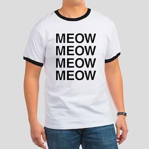 Meow Meow Meow Meow Ringer T