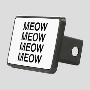 Meow Meow Meow Meow Rectangular Hitch Cover