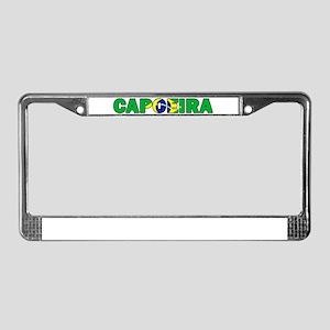 Capoeira 001 License Plate Frame