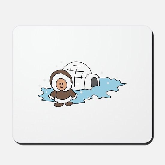 ESKIMO IGLOO Mousepad