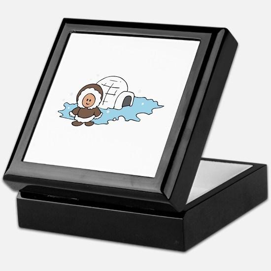 ESKIMO IGLOO Keepsake Box