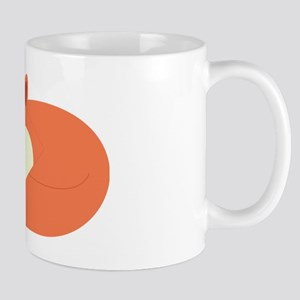 Sleepy Red Fox Mug