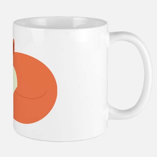 Sleepy Red Fox Mug