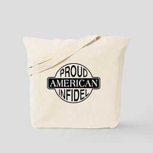 Proud American Infidel Tote Bag