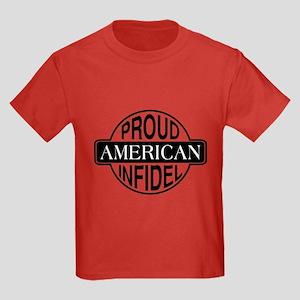 Proud American Infidel Kids Dark T-Shirt