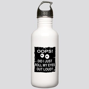 Roll My Eyes Out Loud Stainless Water Bottle 1.0L