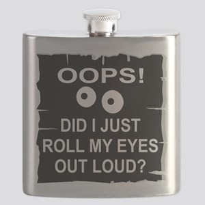 Roll My Eyes Out Loud Flask