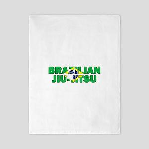 Brazilian Jiu-Jitsu 001 Twin Duvet