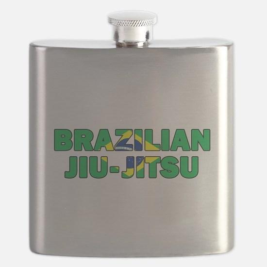 Brazilian Jiu-Jitsu 001 Flask
