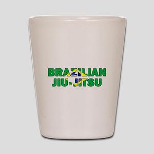 Brazilian Jiu-Jitsu 001 Shot Glass