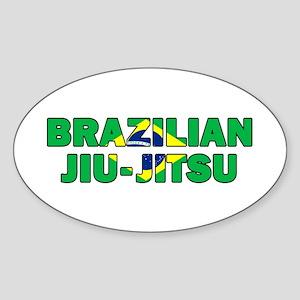 Brazilian Jiu-Jitsu 001 Sticker