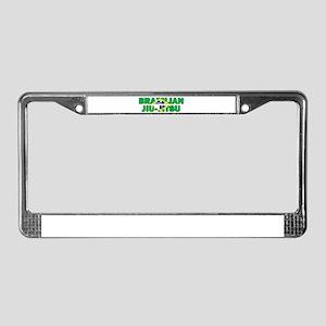 Brazilian Jiu-Jitsu 001 License Plate Frame
