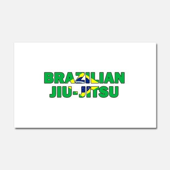 Brazilian Jiu-Jitsu 001 Car Magnet 20 x 12